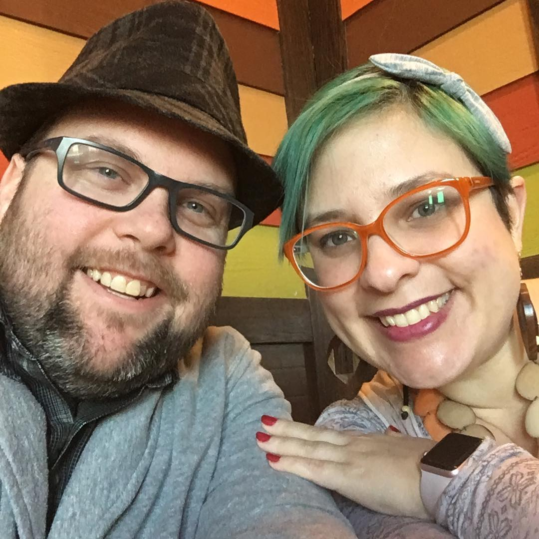 I love my husband! So I bug him for #selfies. He obliges. #selfie #nofilter #marriage