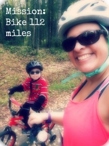 biking with Caleb